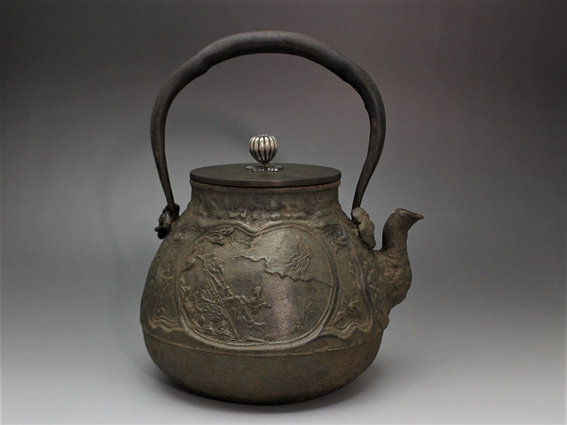 金寿堂鉄瓶